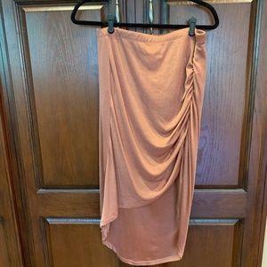 Charlotte Russe Orange Skirt